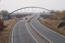 Jane Coston Bridge over the A14