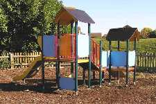 Play area on Coles Road rec