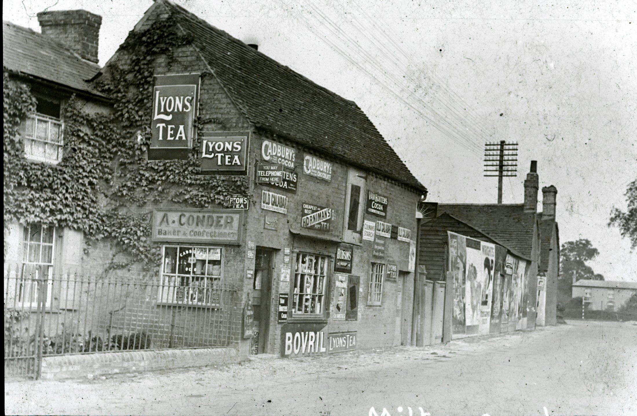 A Conders Shop and Ivy Cottage