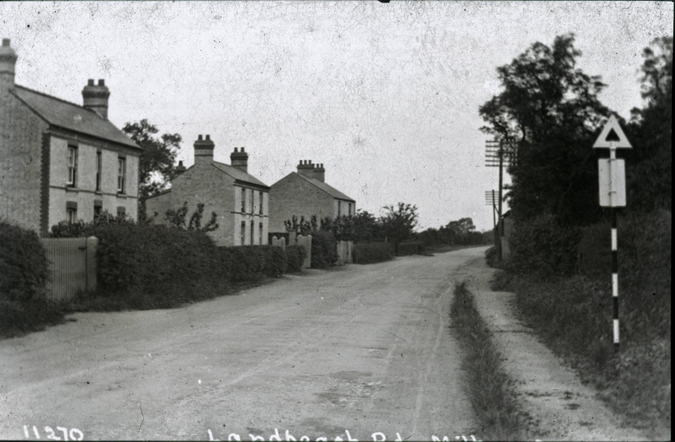 Landbeach Road - showing the house 'Braemar'
