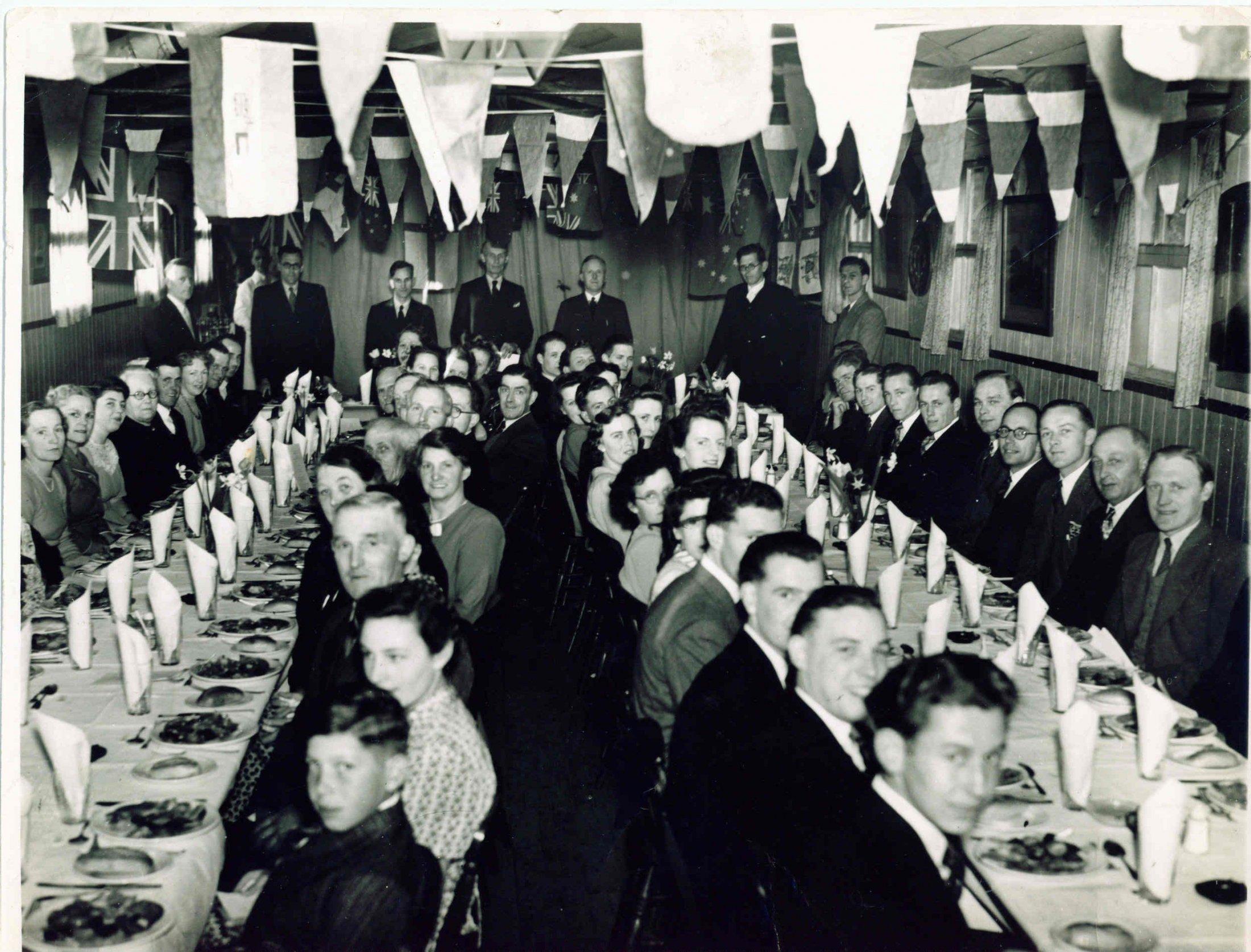 Milton Fc Annual Dinner In Old Mens Institute