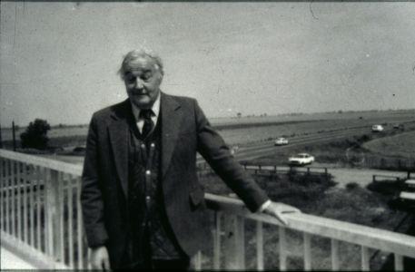 A10 bypass footbridge with Ken Humphries