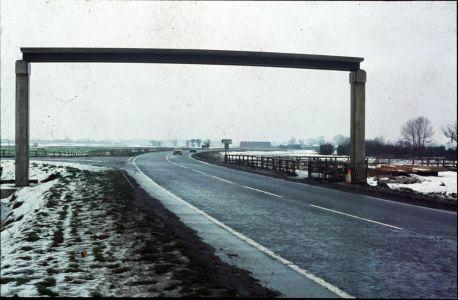 A10 bridge under construction