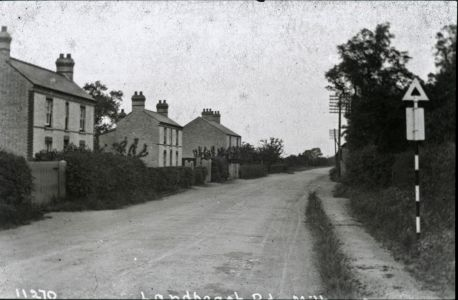 Landbeach Road - showing the house 'Braemar'