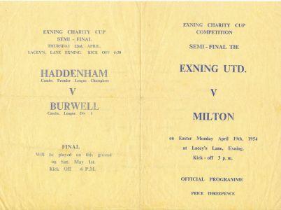 Football 2 Programme Front