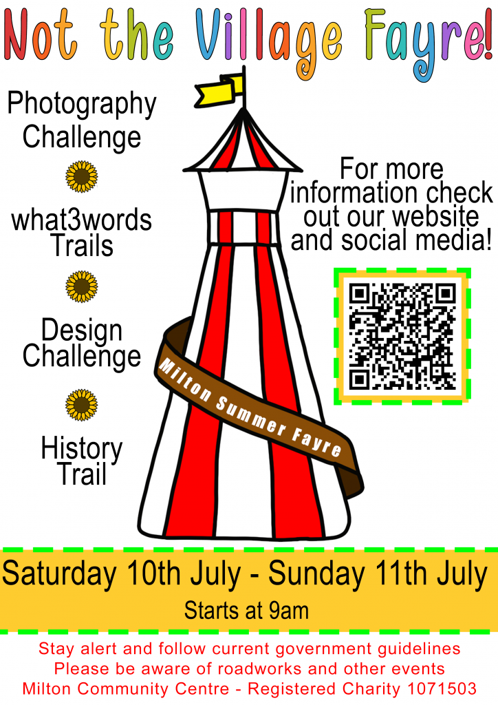 Village Fayre poster for July 11th